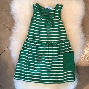 Hanna Andersson striped tank dress